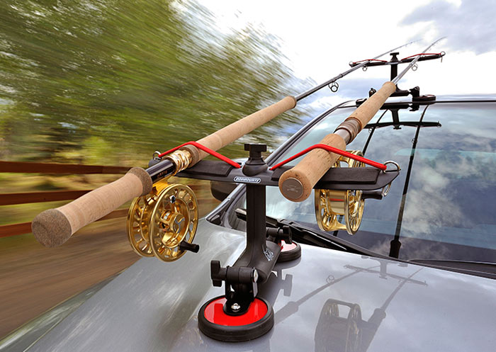 Sumo magnet rodmounts for Fishing pole holder for car