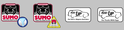 Rod Mounts - Logos