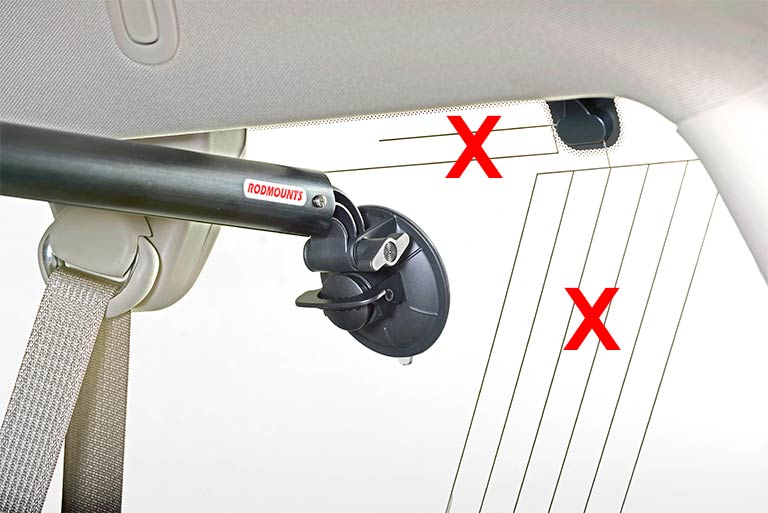 Rod up for suvs wagons and vans rodmounts 2017 2018 for Fishing rod holder for suv