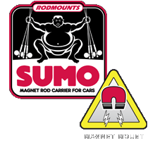 Sumo Magnet fishing Rod Mount